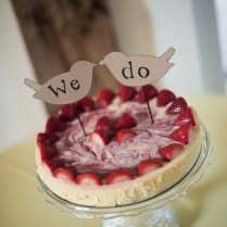 22 Yummy And Trendy Cheesecake Wedding Cakes