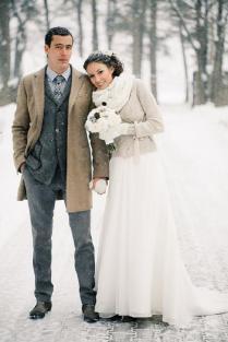 26 Winter Wedding Groom's Attire Ideas