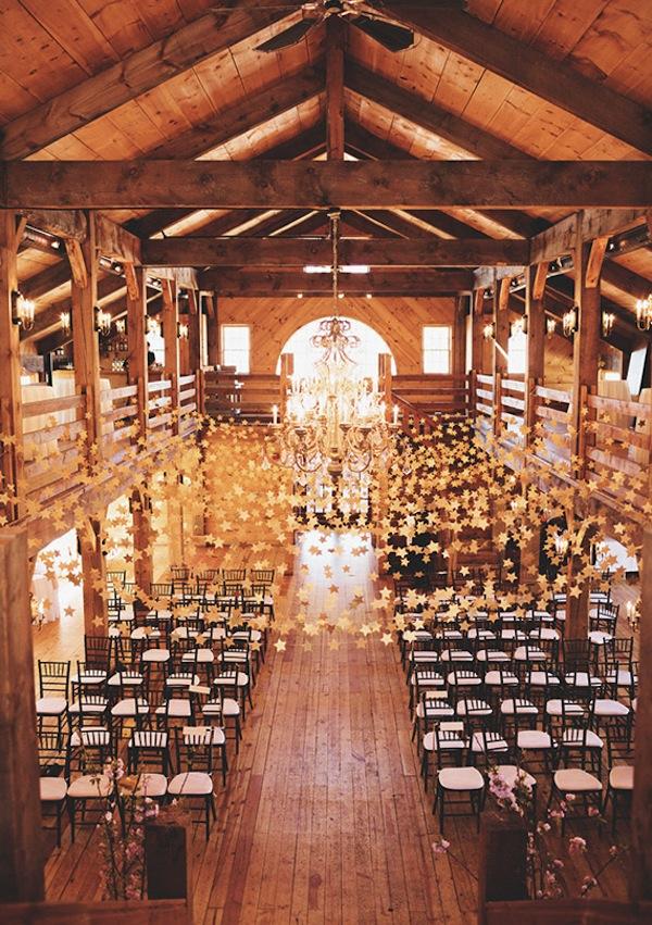 Star Themed Wedding Reception