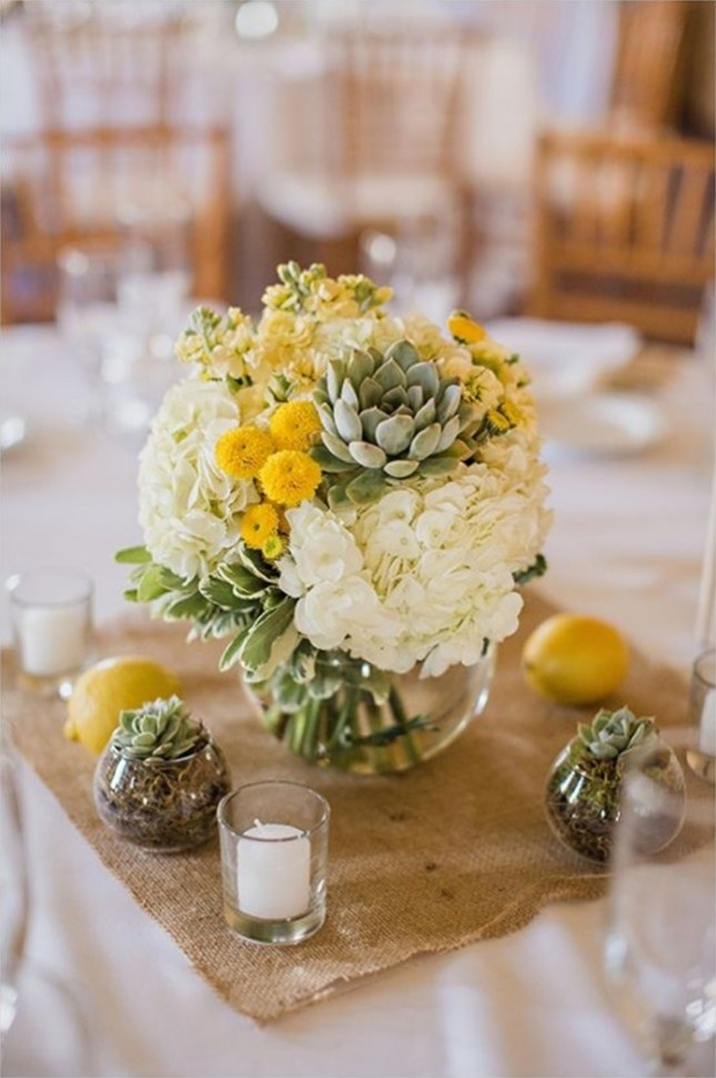 Succulent Centerpieces Wedding