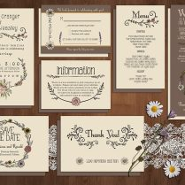 50 Examples Of Wonderfully Designed Wedding Invitations