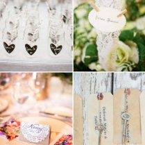 5 Unforgettable Wedding Escort Card Diys