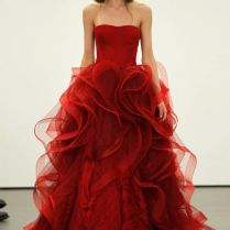 A Guide To Having Nontraditional Red Wedding Dresses