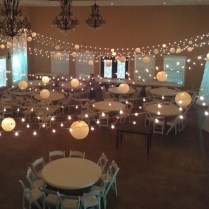 Accent Lighting For Wedding Ceremony And Reception