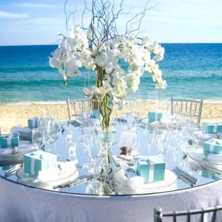 Adorable Beach Wedding Centrepieces