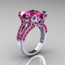 Affordableinexpensive Pink Sapphire Engagement Rings With Diamonds