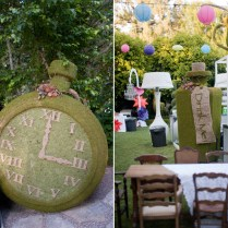 Alice In Wonderland Inspired Wedding Reception