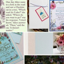 Alice In Wonderland Wedding Invitation Archives
