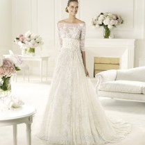 Aliexpress Com Buy 2015 Amazing A Line Boat Neck Lace Wedding