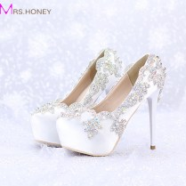 Aliexpress Com Buy 2016 Satin Wedding High Heels Ab Color