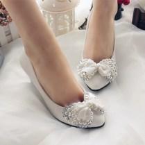 Aliexpress Com Buy Newest!!! Handmade Wedding Shoes White Bridal
