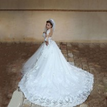 Aliexpress Com Buy Said Designer Long Sleeves Wedding Dresses