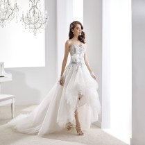 Aliexpress Com Buy Sexy High Low Wedding Dresses 2015 Sweetheart