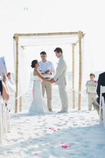 An Intimate Handmade Beach Wedding