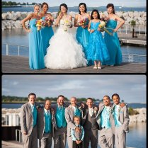 Angie & Dave's Downtown Milwaukee Summer Wedding At Pier Wisconsin