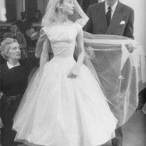 Audrey Hepburn Wedding Dress Replica