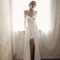 Beach Bohemian Wedding Dress
