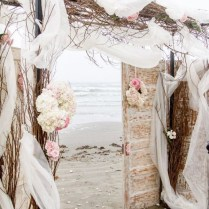 Beach Wedding Door Arch Boho