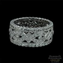 Beverley K Jewelry 18kt White Gold Diamond Wedding Ring By Beverly K