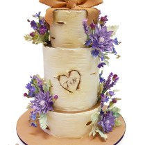 Birch Tree Wedding Cake » Fall Wedding Cakes