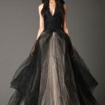 Black And Gray Wedding Dresses
