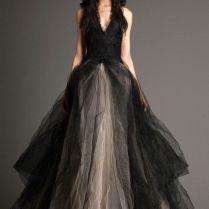 Black And White Wedding Dresses Vera Wang