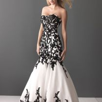 Black Lace Wedding Dress Fascinating Black Lace Wedding Gown