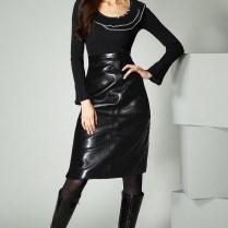Black Leather Skirt, Leatheristop