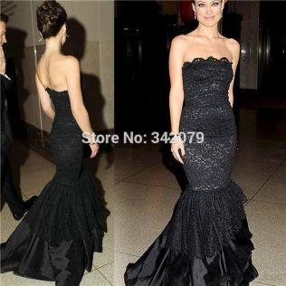 Black Leather Wedding Dresses