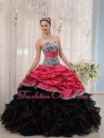 Black Pink Wedding Dresses On Wedding Dresses With Black Hot Pink