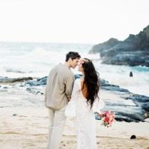 Bohemian Beach Wedding In Hawaii ⎪burnett's Boards
