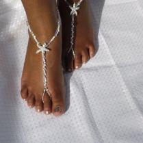 Bridal Jewelry Barefoot Sandals Wedding Foot Jewelry Anklet