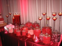 Candy Table For Wedding Reception