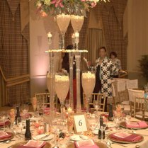 Champagne Wishes And Caviar Dreams Wedding Table Decorations For