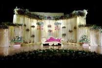 Christian Wedding Stage Decoration Photos