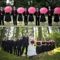 Christmas Wedding Decorations, Pink Umbrella And Wedding On Emasscraft Org