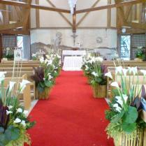 Church Wedding Decorations Ideas Pews — Room Decoration Ideas