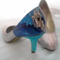Cinderella Glass Slippers Shoes