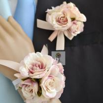 Compare Prices On Rose Wrist Corsage