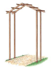 Complete Wedding Arbor Building Plans