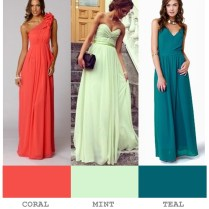 Coral, Wedding Color Palettes And Mint On Emasscraft Org