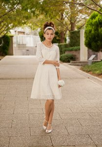 Cotton Lace Casual Wedding Dress Made To Order By Vivatveritas7