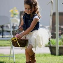 Country Flower Girl Dresses With Cowgirl Boots Naf Dresses