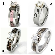 Country Wedding Rings