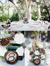 Country Wedding Table Toppers