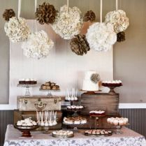 Country Western Wedding Table Decorations