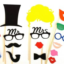 Creative Wedding Ideas From Etsy Mr And Mrs Decor Photobooth Props