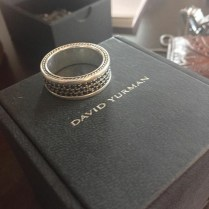 David Yurman Sexy Black Diamond Wedding Band (mens)