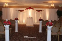 Decorated Wedding Columns On Decorations With Decorated Wedding