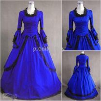 Discount Blue Victorian Wedding Gowns